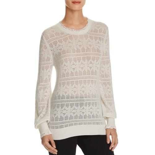 BURBERRY Trebbia Open-Knit Sweater