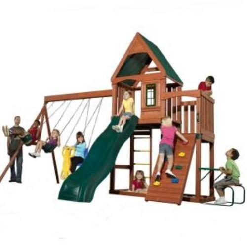 Swing-N-Slide Playsets Knightsbridge Wood Complete Playset