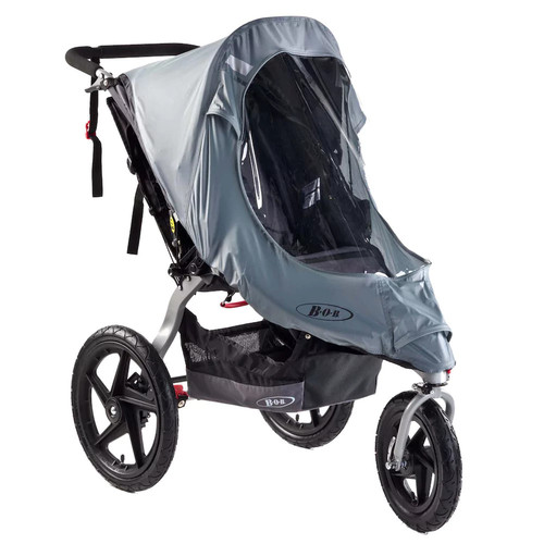 BOB Weather Shield for Single Revolution/SS Strollers [1, BOB Weather Shield for Single Revolution/SS Strollers]