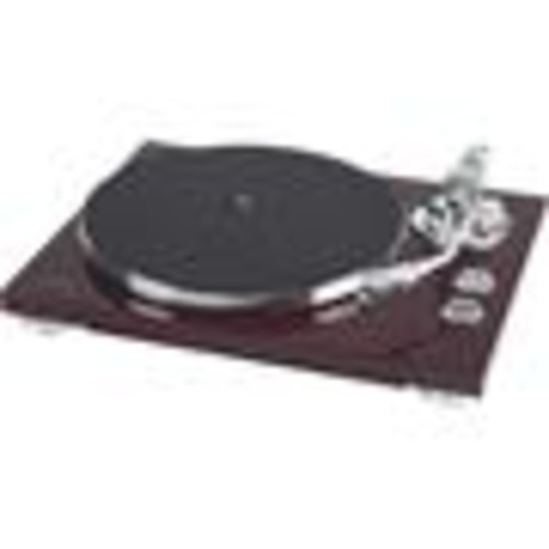 TEAC TN-400S (Cherry) Manual belt-drive turntable with pre-mounted cartridge, USB output, and built-in phono preamp
