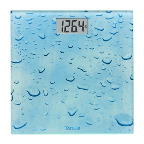 Taylor - Digital Bathroom Scale - Blue