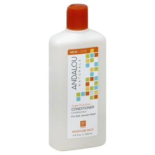 Andalou Naturals Argan Oil & Shea Conditioner, 11.5 FL OZ