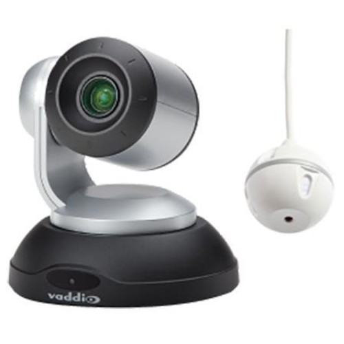 Vaddio ConferenceSHOT AV Bundle - Integrator 1 without Speaker, Silver/Black