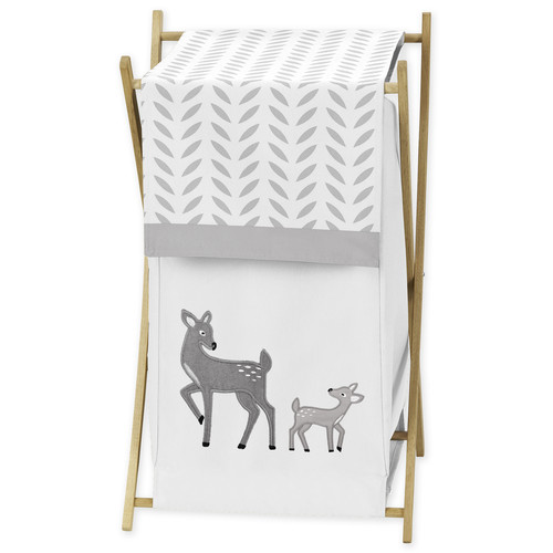 Sweet Jojo Designs Laundry Hamper for the Forest Deer Collection by