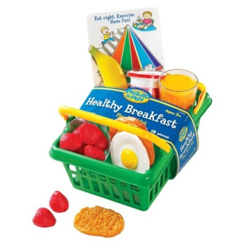 Learning Resources Healthy Breakfast Basket Play Set