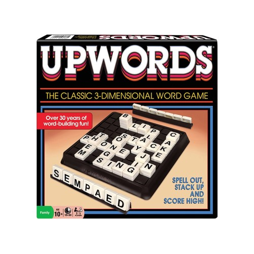 Classic Upwords Game by Winning Moves