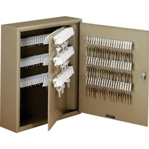 MMF Industries STEELMASTER Uni-Tag Key Cabinet, Sand, 240 Key Capacity