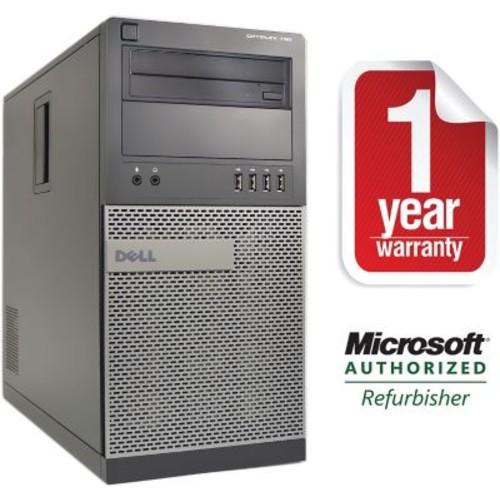 Refurbished Dell 790 Tower Intel Corei5-3.3Ghz 8GB Ram 2TB Hard Drive DVDRW Win 10 Pro(64bit)