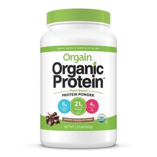 Orgain Organic Protein Plant-Based Protein Powder - Creamy Chocolate Fudge - 2.01lbs