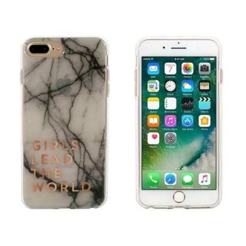 End Scene iPhone 8 Plus/7 Plus/6s Plus/6 Plus Case - Girls lead the World
