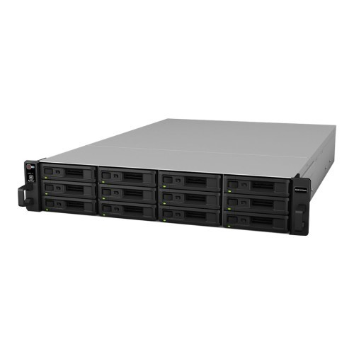 Synology RackStation RXD1215SAS - Hard drive array - 12 bays (SAS) - SAS (external) - rack-mountable - 2U (RXD1215SAS)