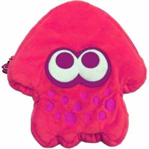 HORI Nintendo Switch Splatoon 2 Plush Pouch - Pink