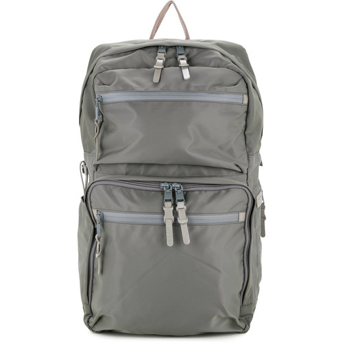 210D nylon twill square backpack