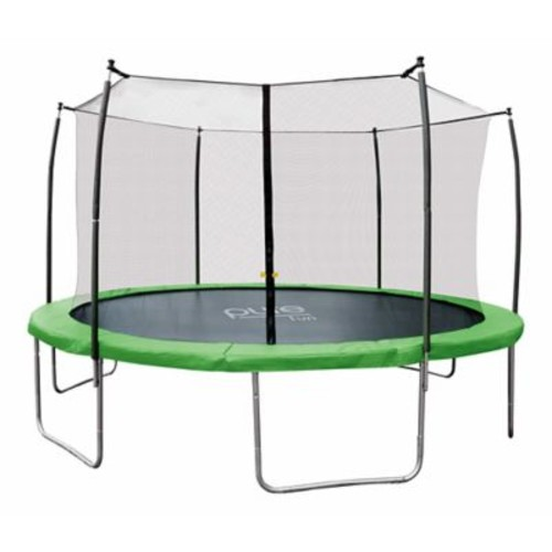 Pure Fun Trampoline w/ Enclosure; 14' W