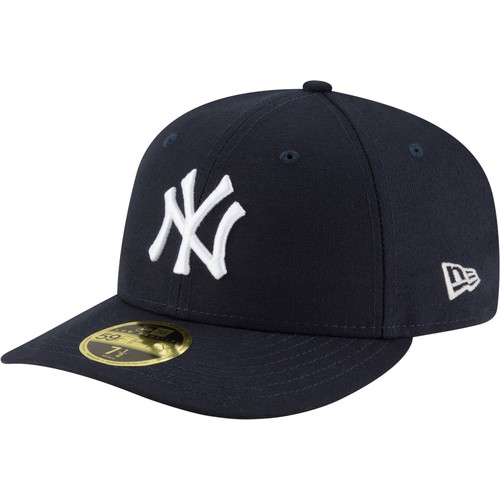 Era Men's New York Yankees 59Fifty Game Navy Low Crown Authentic Hat