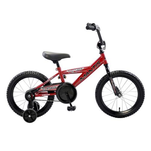 Mantis Flipside Kid's Bike, 16 inch wheels, 10 inch frame, Boy's Bike, Red