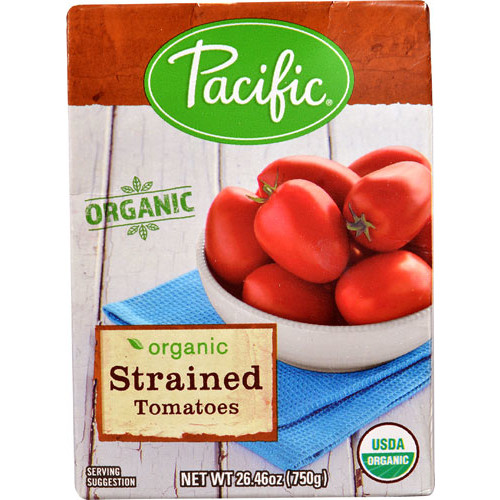 Pacific Natural Foods Organic Strained Tomatoes -- 26.46 oz
