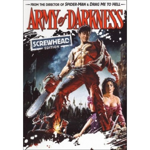 Army of Darkness (Screwhead Edition) ($5 Halloween Candy Cash Offer) (dvd_video)