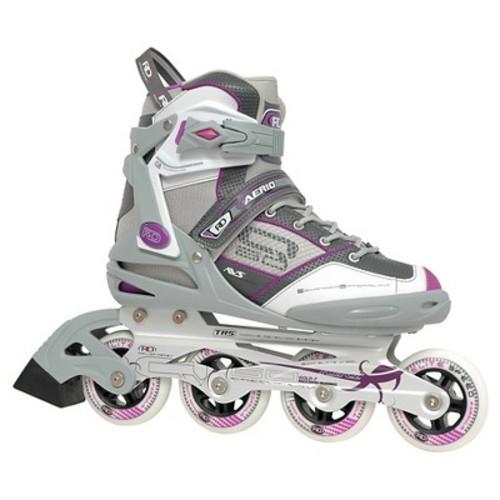 Roller Derby Women's Aerio Q-60 Inline Skates - Gray/White/Pink 7