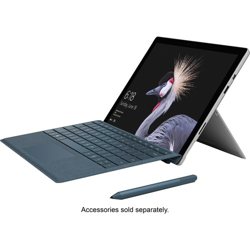 Microsoft - Surface Pro  12.3  Intel Core i7  16GB Memory - 512GB Solid State Drive (Latest Model) - Silver