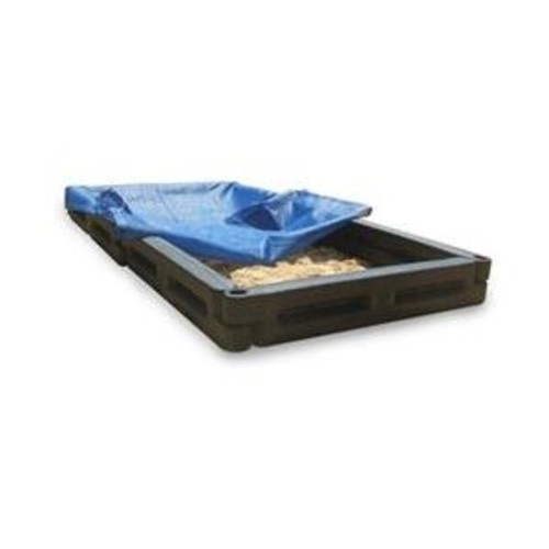 4' Rectangular Sandbox with Cover