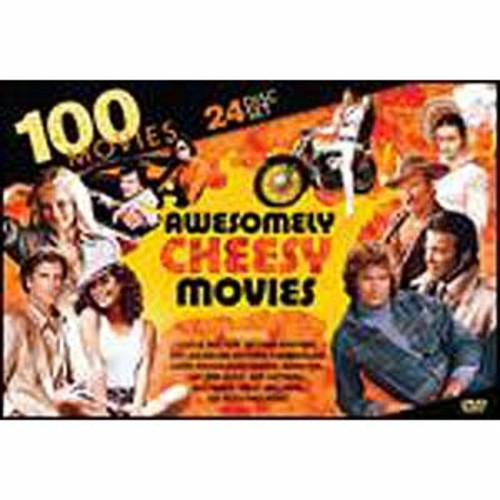 100 Awesomely Cheesy Movies [24 Discs]