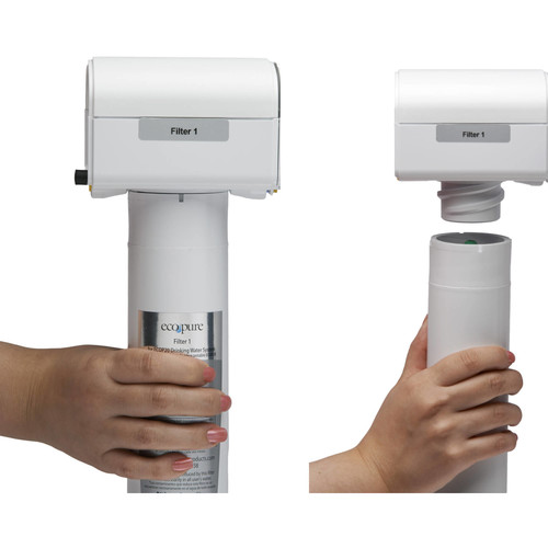 EcoPure Main Faucet Under Sink Water Filter System