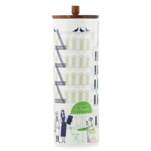 kate spade new york Hopscotch Drive About Town Tall Canister with Lid