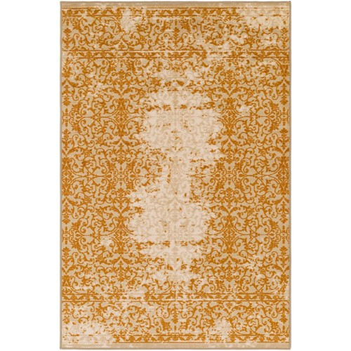 Surya Sonya Tan 8 ft. x 10 ft. Indoor Area Rug