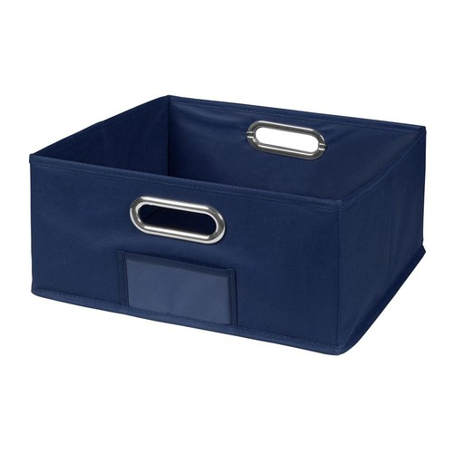 Niche Cubo 12 in. x 6 in. Blue Folding Fabric Bin