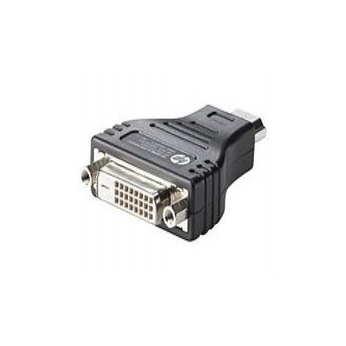 HP HDMI to DVI Adapter - video adapter - HDMI / DVI
