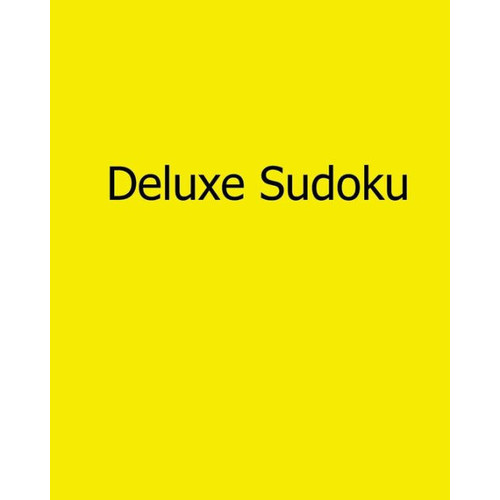 Deluxe Sudoku: Fun, Large Print Sudoku Puzzles