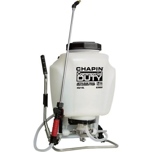 Chapin Dual Action Backpack Sprayer  4-Gallon Capacity, 90 PSI,