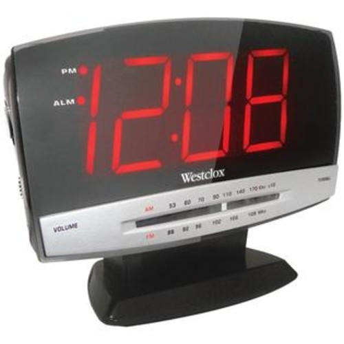 Ape Case Westclox 80187 1.8 Digital Am/Fm Dual Alarm Clock Radio