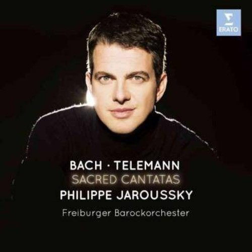 Philippe Jaroussky - Bach/Telemann:Sacred Cantatas (CD)