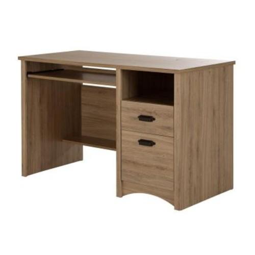South Shore Gascony Rustic Oak Desk