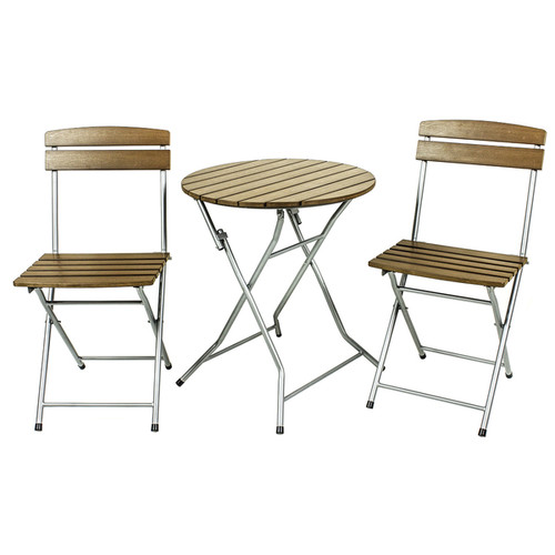 River Cottage Gardens PB004 Brown Bistro 3 Piece Set