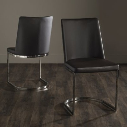 Safavieh Parkston Brown Side Chair (Set of 2)
