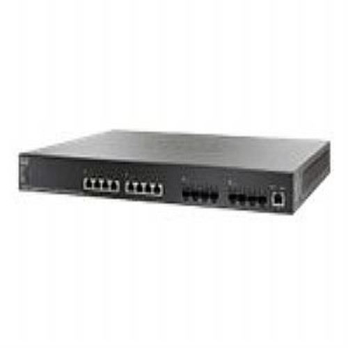 Cisco Small Business SG500XG-8F8T - Switch - L3 - managed - 8 x 10GBase-T + 8 x 10 Gigabit SFP+ - desktop, rack-mountable (SG500XG-8F8T-K9-NA)