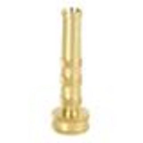 Sun Joe SJI-4BHN 4-In Solid Brass Heavy Duty Twist Hose Nozzle