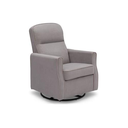 Delta Children Clair Nursery Glider Swivel Rocker Chair - Dove Grey