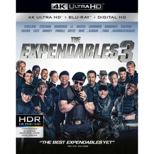 The Expendables 3 [4K UHD] [Blu-Ray] [Digital HD]