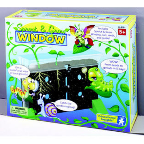Educational Insights EI-5101 SPROUT & GROW WINDOW-GR. K AND UP