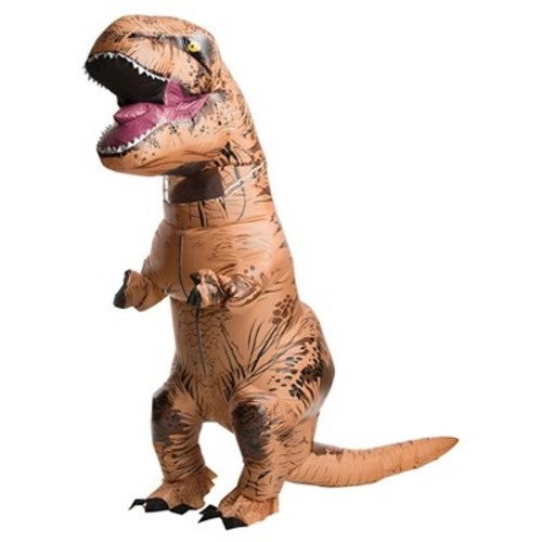 Adult Jurassic World Inflatable T-Rex Costume