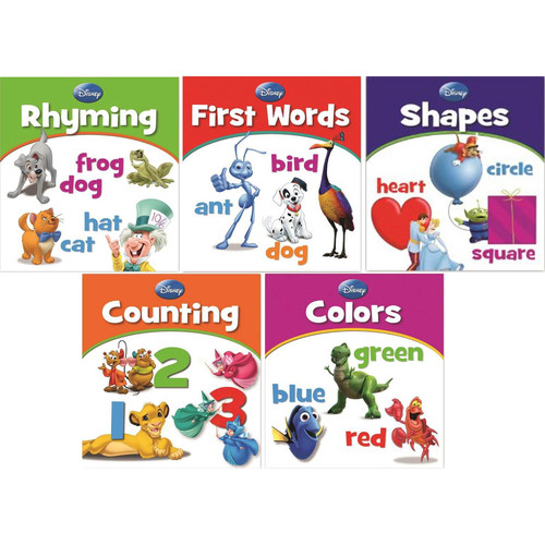 Disney 5 Books Educational Value Set