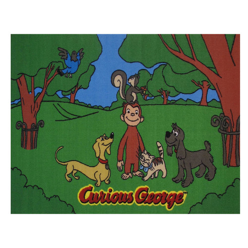 Fun Rugs Curious George & Friends Rug - 19'' x 29''