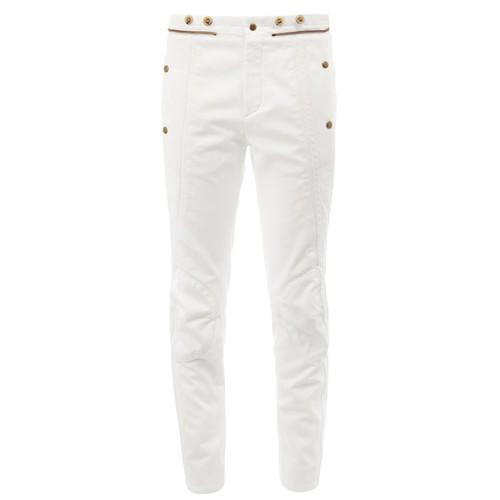 CHLOÉ Zipper Detail Panelled Jeans