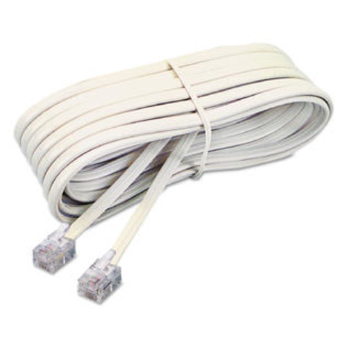Softalk SOF48106 Modular Telephone Extension Cord, Plug/Plug