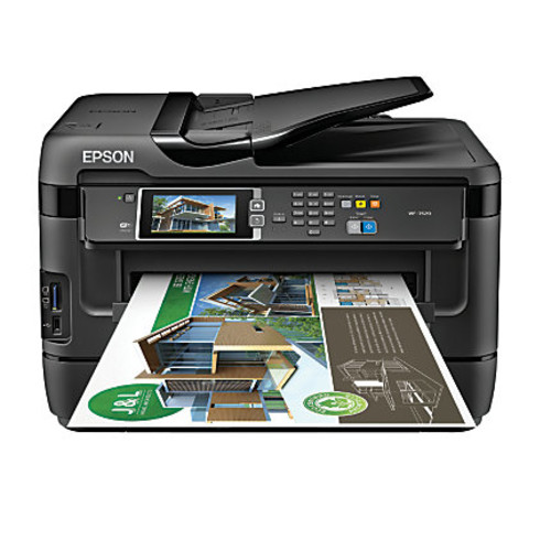 Epson WorkForce WF-7620 Wireless Wide Format All-In-One Printer, Copier, Scanner, Fax