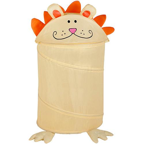 Honey-Can-Do HMP-02056 Kid's Pop-Up Hamper, Lion, Medium